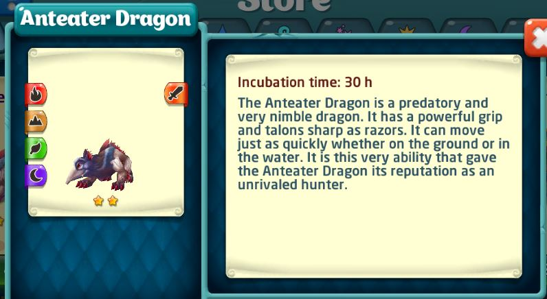 anteater dragon store